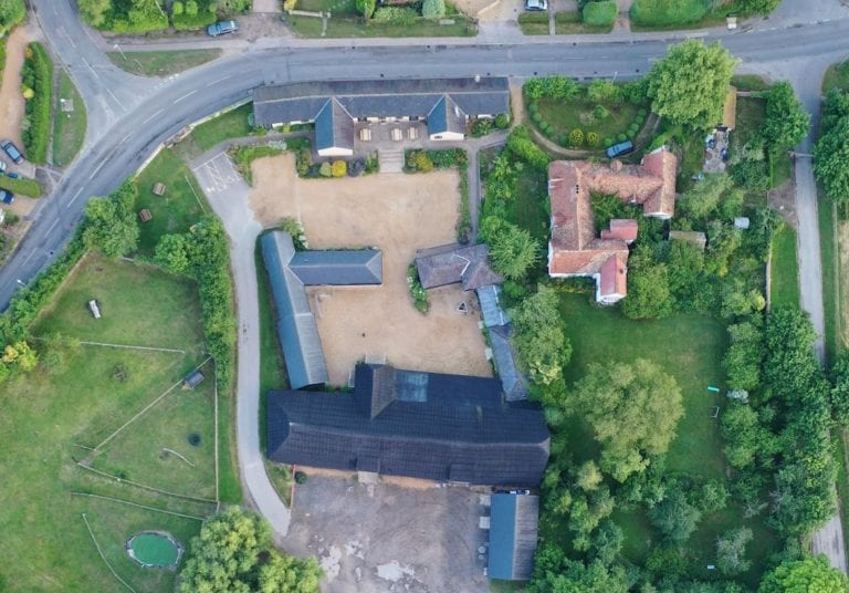 Manor Farm From Above