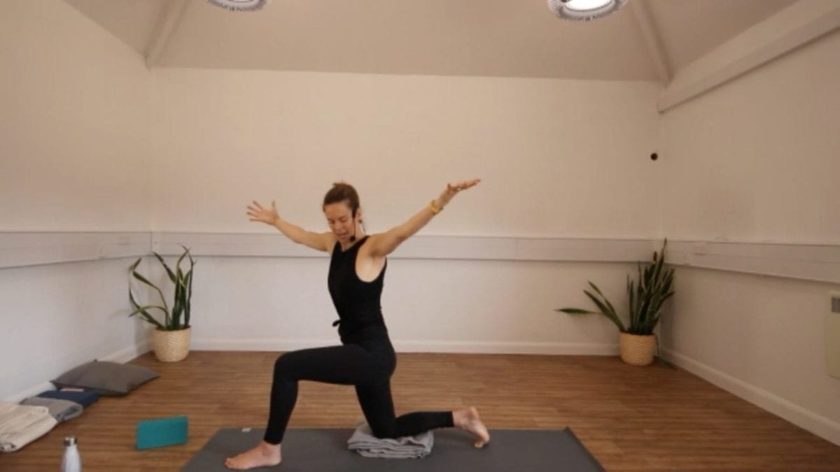 Connecting To Centre Open Flow Yoga YATB