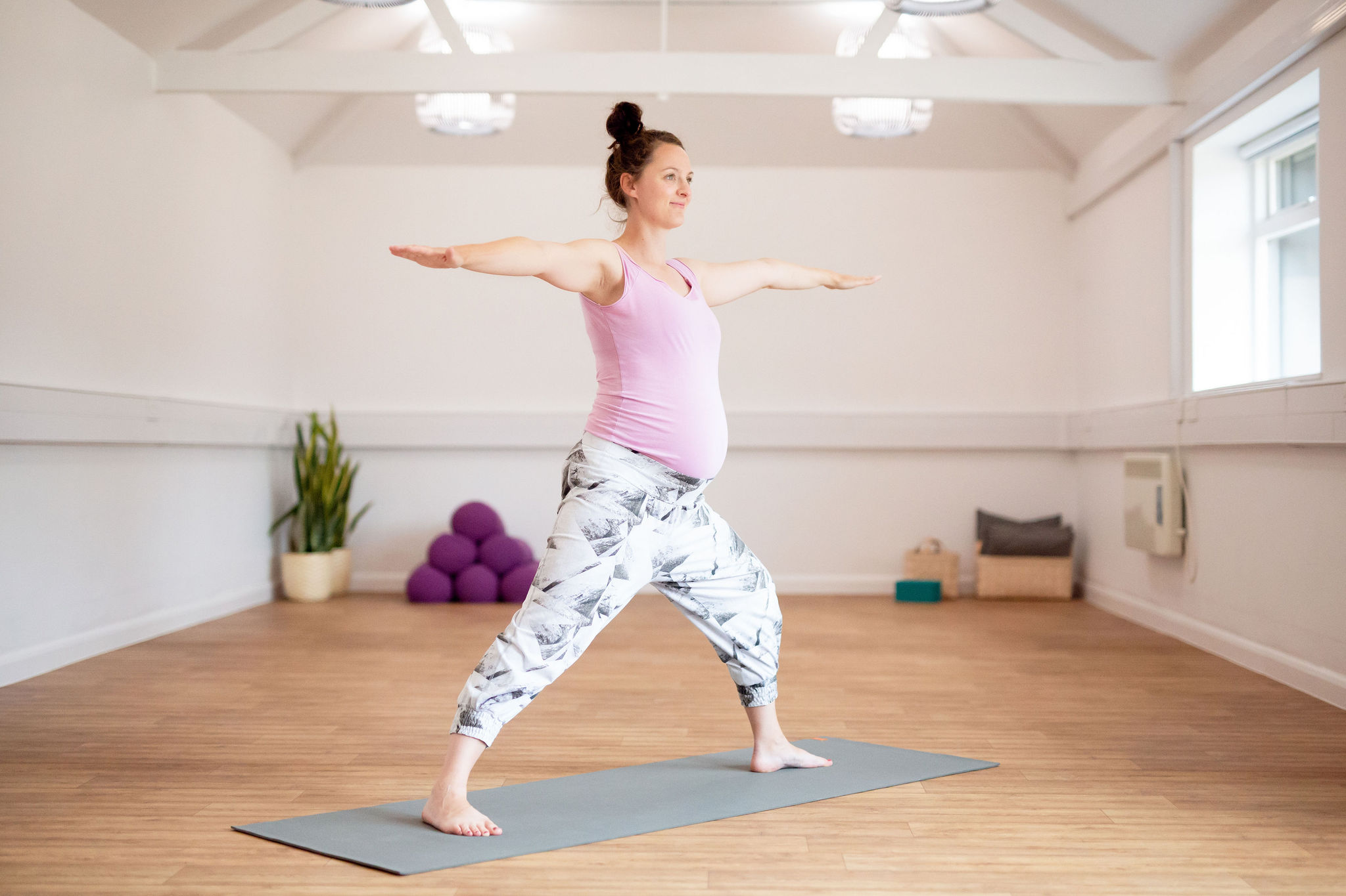 Pregnancy Yoga Classes are back